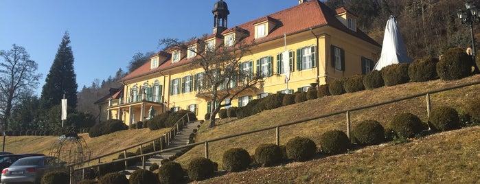 Aiola im Schloss is one of Food & Fun - Vienna, Graz & Salzburg.