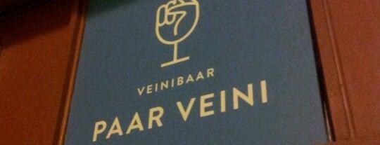 Paar Veini is one of The Barman's bars in Tallinn.