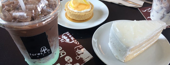 Foresto Cafe' is one of ╭☆╯Coffee & Bakery ❀●•♪.。.