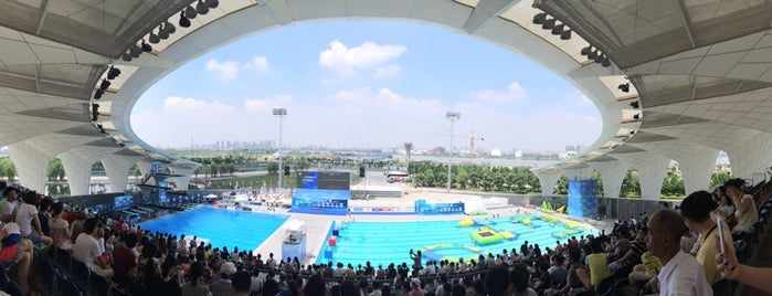 Oriental Sports Center is one of Metro Shanghai.