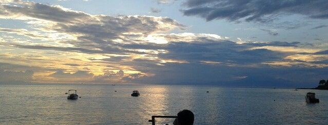 Pantai Senggigi is one of mataram.
