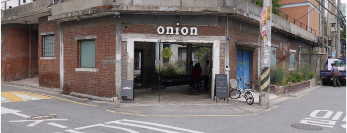 onion is one of Cafes in Seoul.