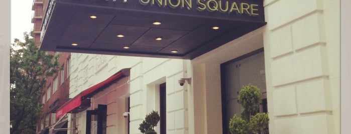 Hyatt Union Square New York is one of HYATT Hotels and Resorts.