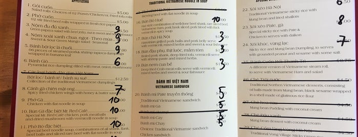 Mr. Red Cafe is one of Vancouver to do list.