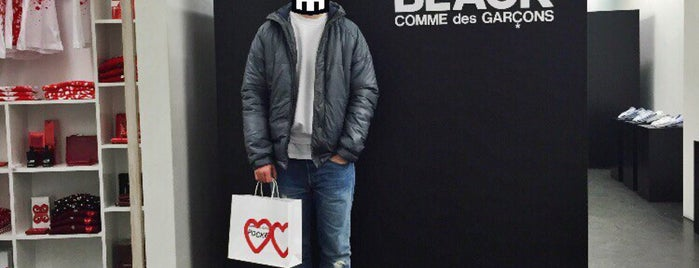 Comme des Garçons is one of Shopping.