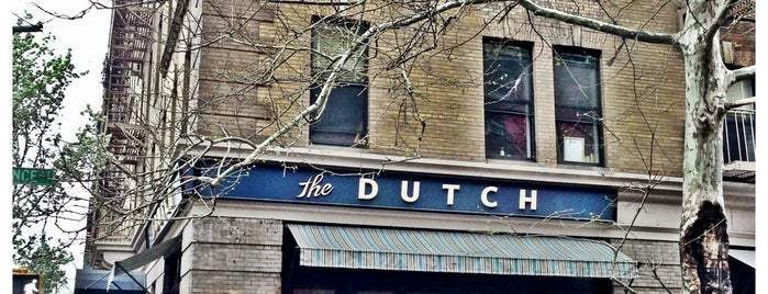 "The Dutch is one of New York Magazine ""Where To Eat 2013""."