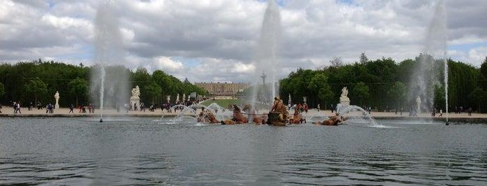 Bassin d'Apollon is one of Château de Versailles.