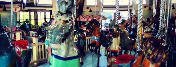 Paragon Carousel is one of Partners in Preservation-Boston.