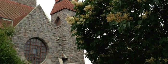Tuomiokirkon Puisto is one of Harrasteet, puistot & muut mestat.