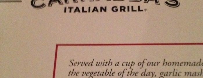 Carrabba's Italian Grill is one of Dallas Restaurants List#1.