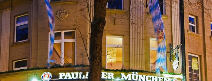 Paulaner Salvator is one of Restaurants.