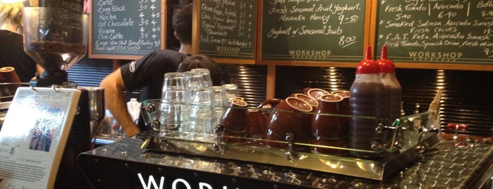 Workshop Espresso is one of Great coffee.