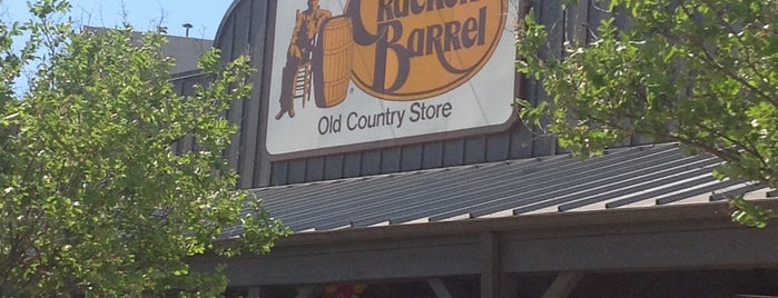 Cracker Barrel Old Country Store is one of The 15 Best American Restaurants in San Antonio.