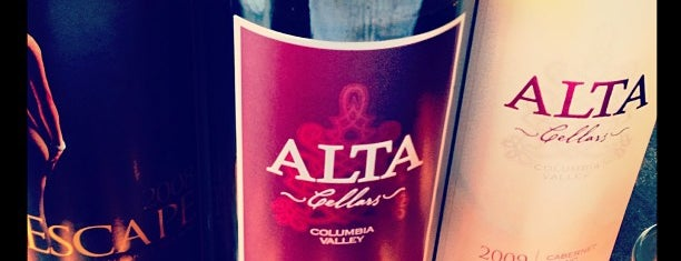 Alta Cellars is one of Woodinville Wineries.