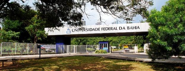 UFBA - Universidade Federal da Bahia - Campus Ondina is one of Salvador.