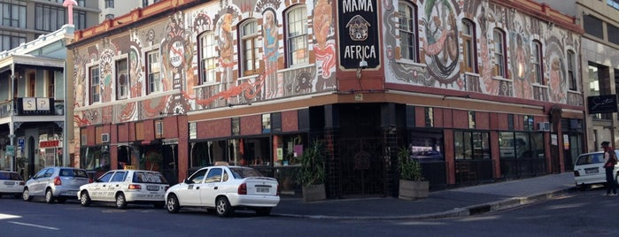 Mama Africa is one of Cape Town.