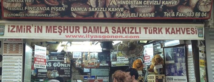 Meşhur Dibek Kuru Kahvecisi İlyas Gönen is one of Özledikçe gideyim - İzmir.