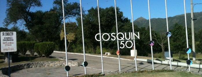 Cosquín is one of Un lugar en el mundo.