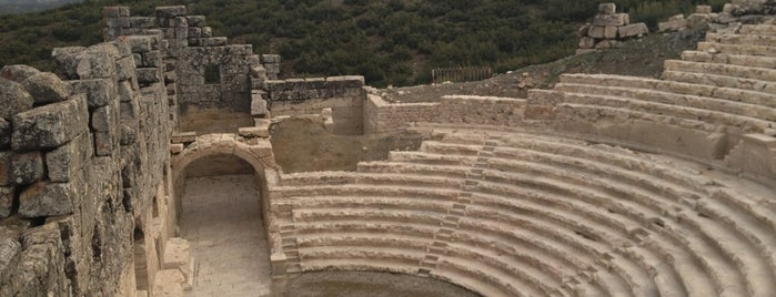 Kibyra Antik Kenti is one of burdur.