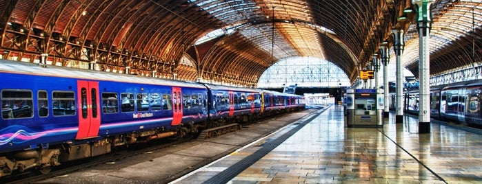 London Paddington Railway Station (PAD) is one of M!.