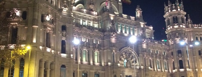 Palace of Communication is one of Madrid cultural.