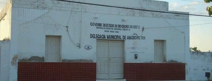 Delegacia de polícia de Angicos is one of Angicos.