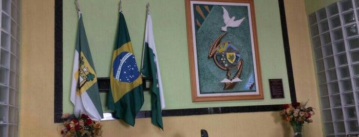 Câmara Municipal de Angicos is one of Angicos.