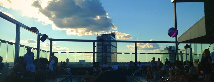 Plunge Rooftop Bar & Lounge is one of Rooftop bars.