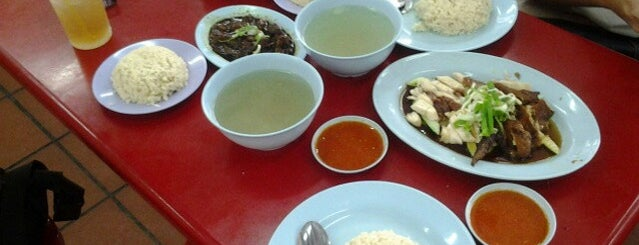 Hock Chicken Rice is one of Penang famous food info.