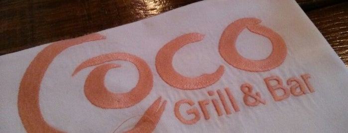Coco Grill & Bar is one of Zürich Season.