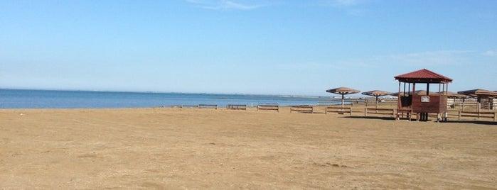 Mayak çimərliyi is one of Absheron Beaches.