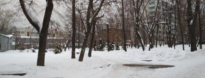 Детский парк им. Милютина is one of бауманка.