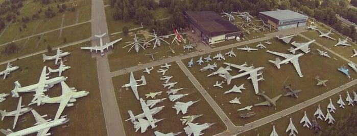 Museo centrale della Federazione Russa delle aeronautiche militari is one of Москва.
