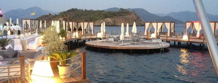 Colıseum Beach Bar @ D-Hotel Maris is one of Aegean Coast.
