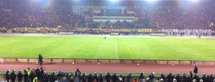 İzmir Atatürk Stadyumu is one of themaraton.