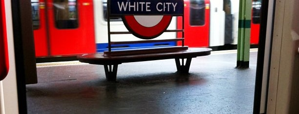 White City London Underground Station is one of Tube Challenge.