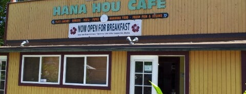 Hana Hou Cafe is one of Establishments to Frequent.