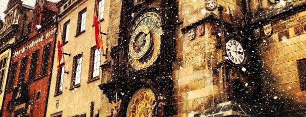 Prague Astronomical Clock is one of Prague.