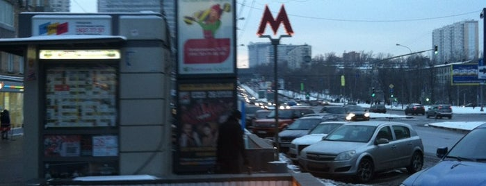 metro Profsoyuznaya is one of Complete list of Moscow subway stations.