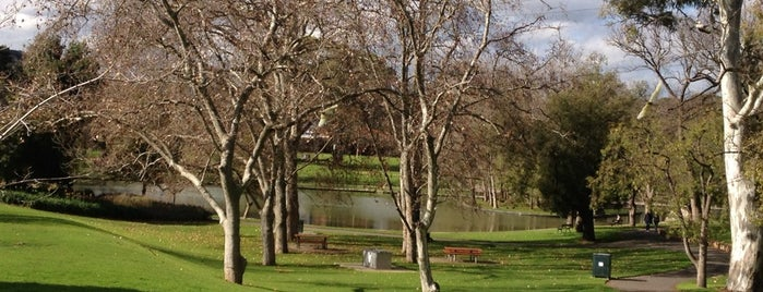 Rymill Park is one of Adelaide.