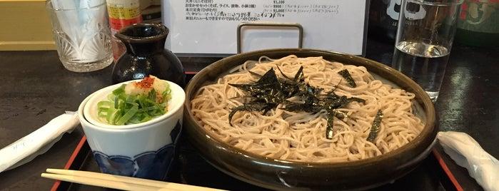 そば処 ゆるり is one of 奈良蕎麦屋.