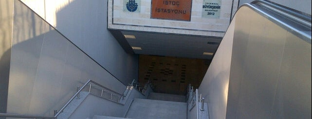 İstoç Metro İstasyonu is one of M3 - Metro İstasyonları.