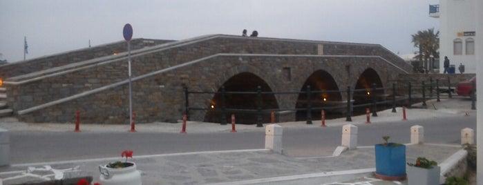 Naoussa Bridge is one of Paros Top.