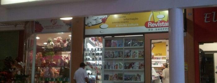 Revistaria do Shopping is one of Shopping Uberaba.