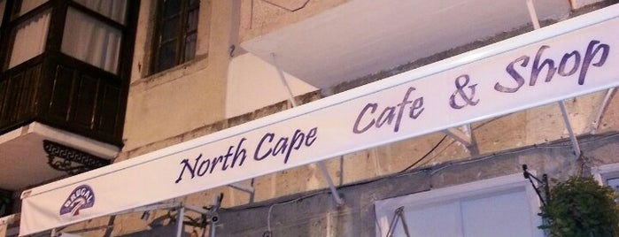 North Cape Cafe is one of themaraton.