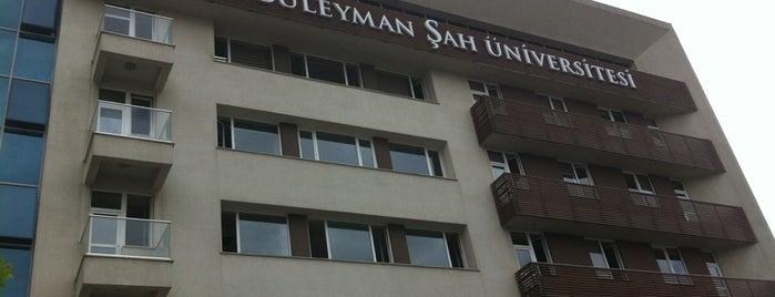 Süleyman Şah Üniversitesi is one of İstanbuldaki Üniversiteler ve Kampüsler.