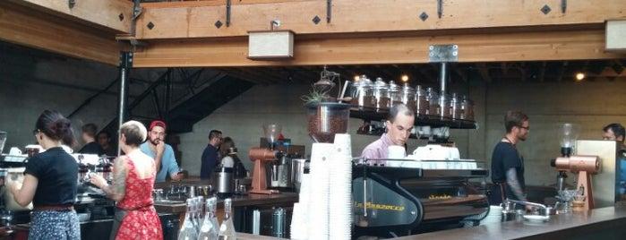 Sightglass Coffee is one of San Francisco Caffeine Crawl.