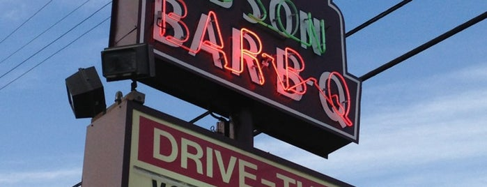 Big Bob Gibson's BBQ is one of Road trip.
