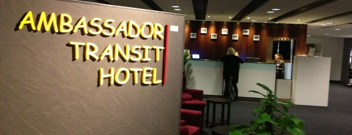 Ambassador Transit Hotel is one of Fly.
