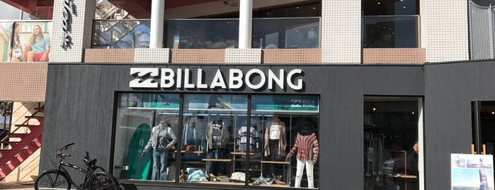 Billabong Store湘南 is one of TERRACE HOUSE's Venue #1.